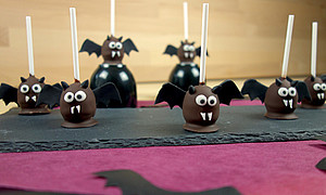 Fledermaus Cake Pops